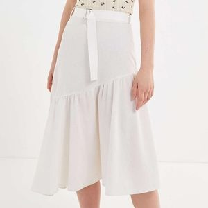Urban Outfitters Tabitha Spliced Midi Skirt S NWOT